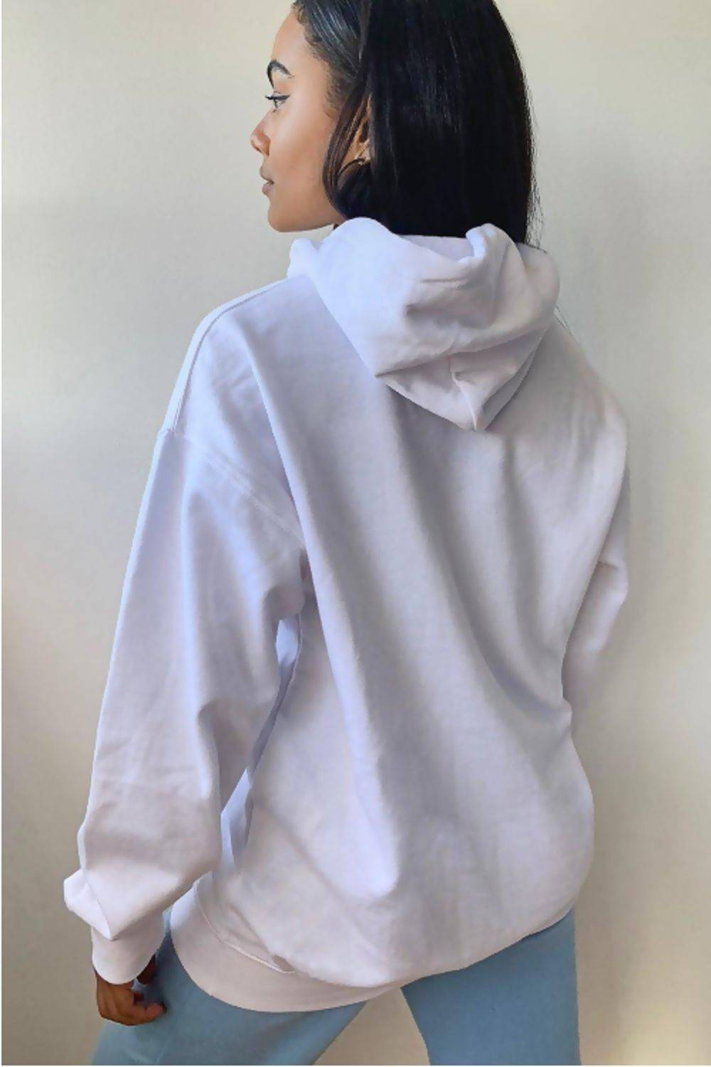 Navy Oversized Pullover Hoodie J5 Fashion