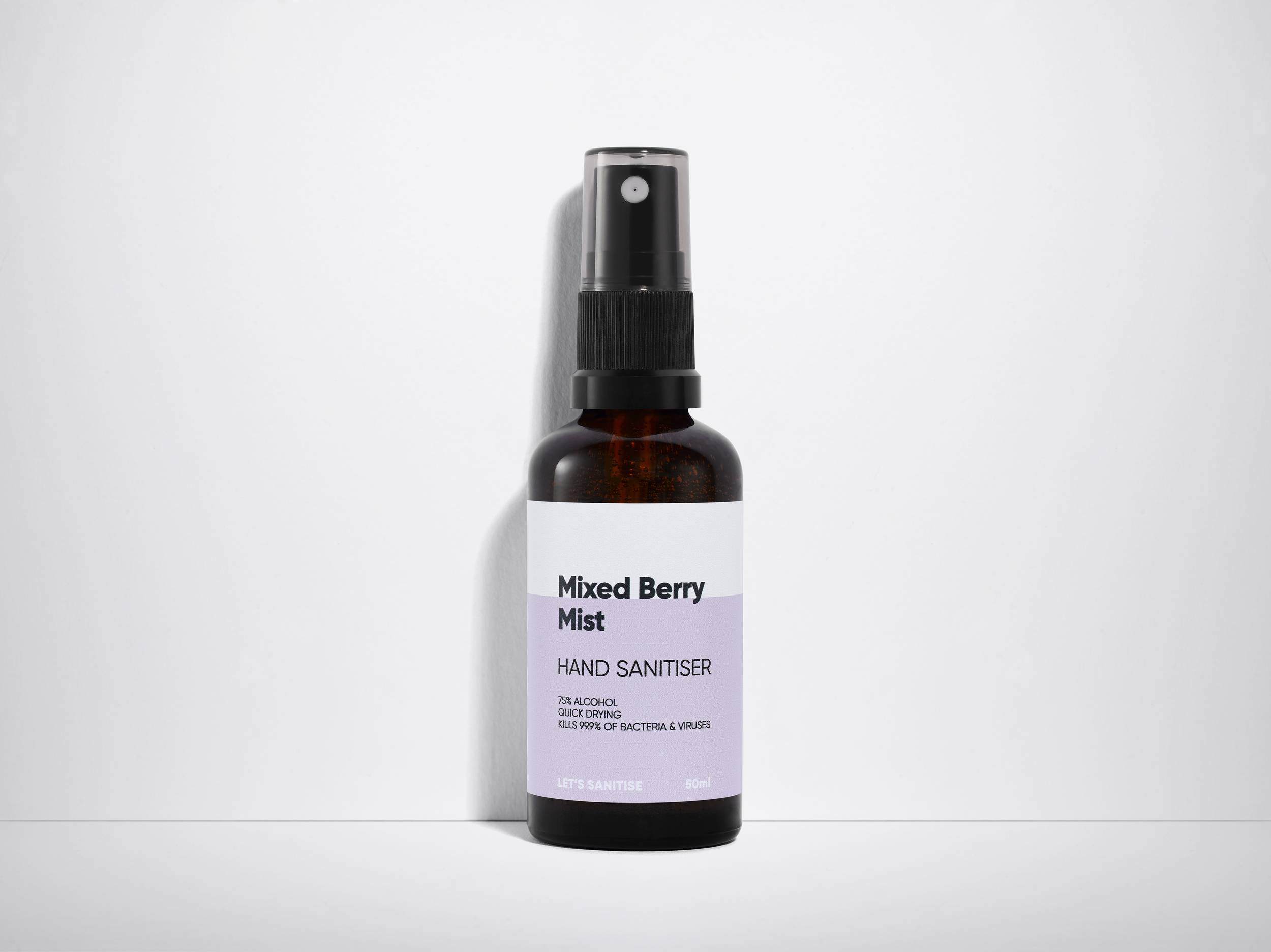 50ml Mist Spray - Mixed Berry Lets Sanitise