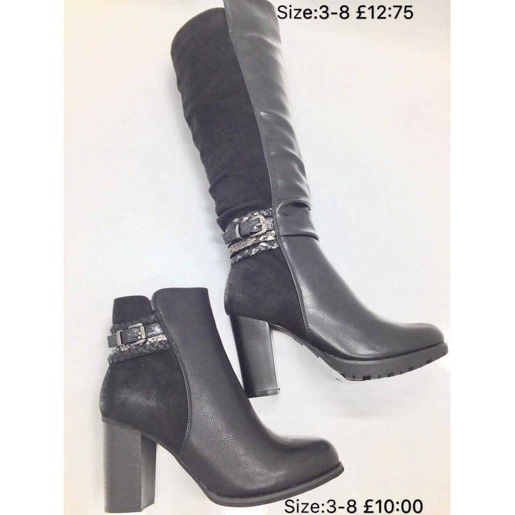 Buckle Detail Ankle Boot Happy Feet
