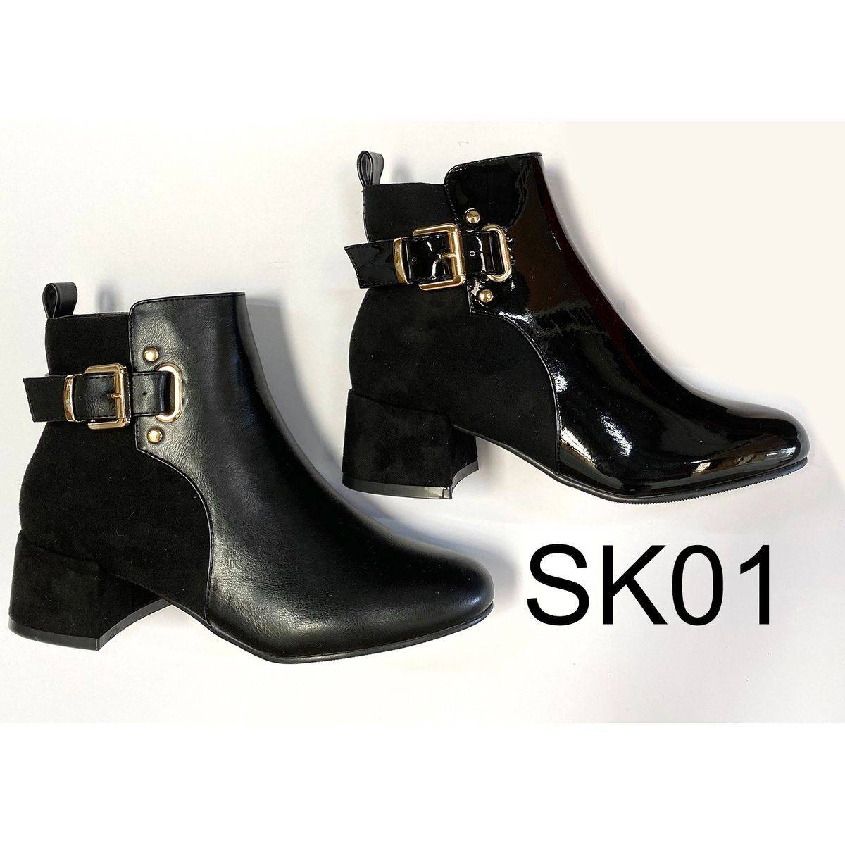 Buckle Ankle Boots Moyee