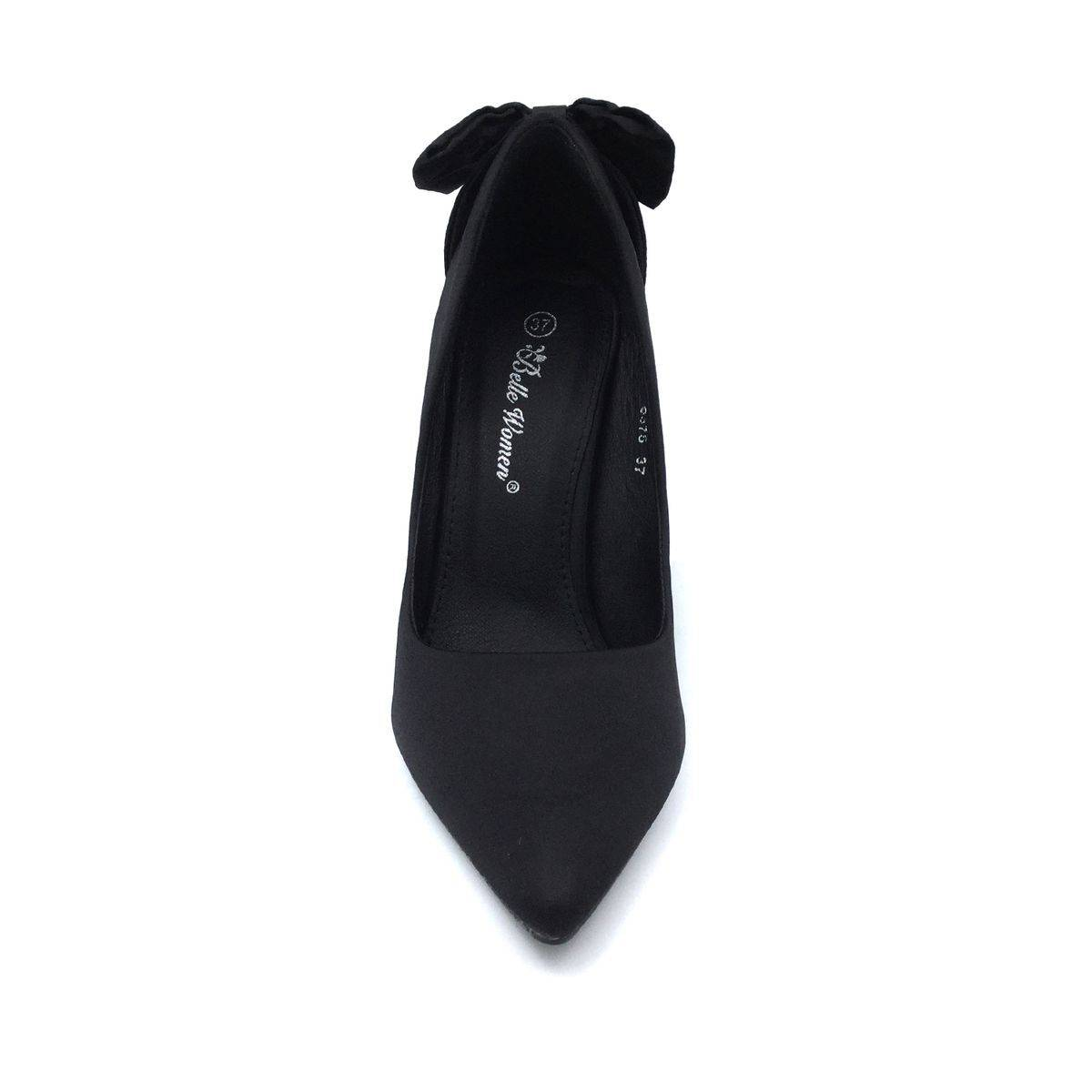 Women's High Heels With Bow Details Top Staka