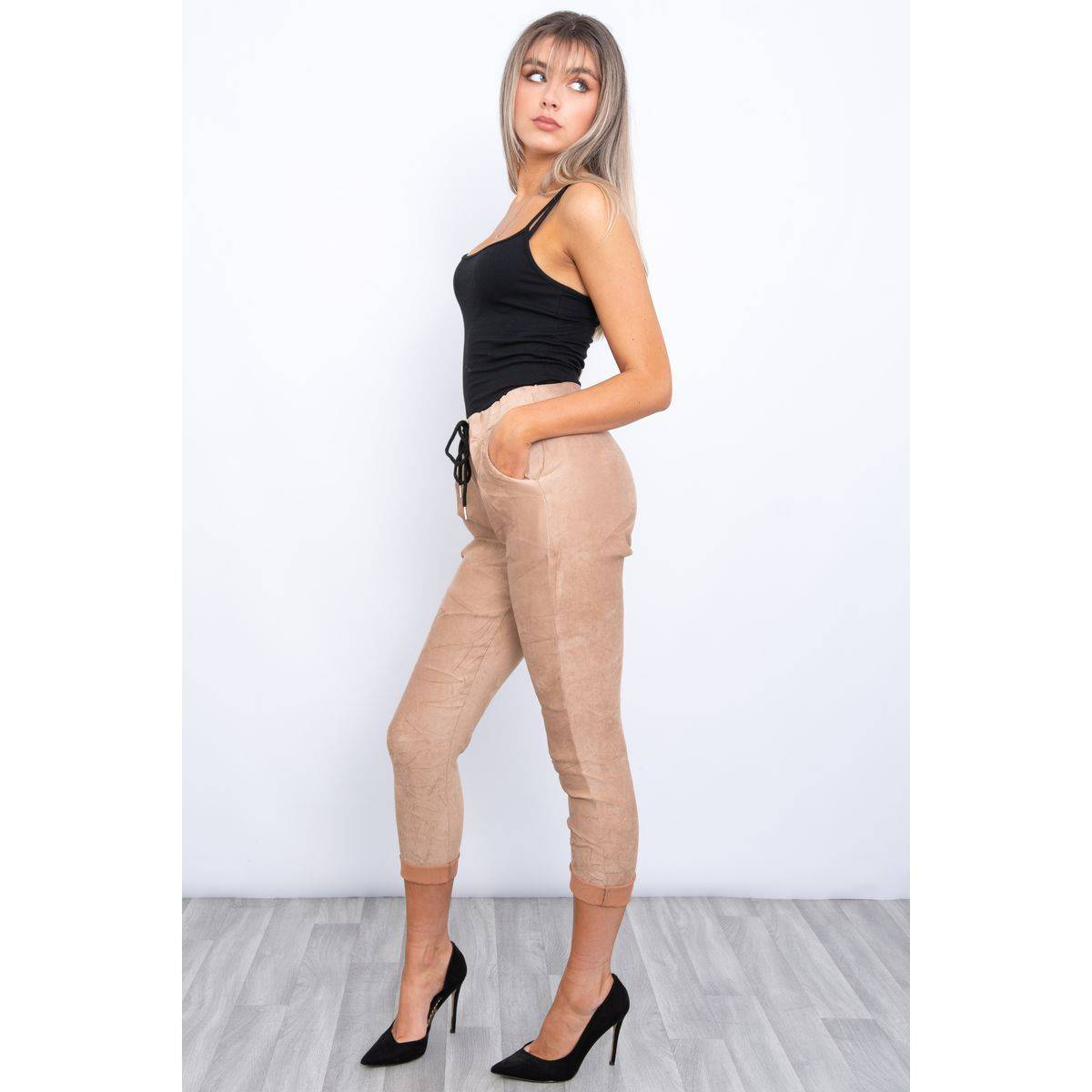 Suede magic trousers Lucy Sparks