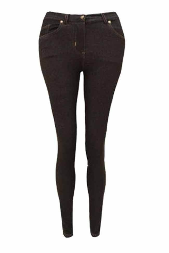 Plus Size Red Skinny Fit Coloured Stretchable Jegging Jeans J5 Fashion